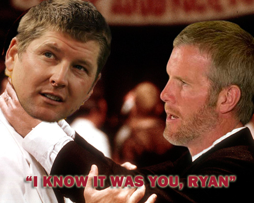 Favre Not Pleased With His BFF Longwell