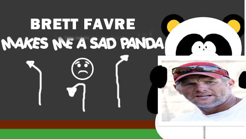 Brett Favre Makes Sexual Harassment Panda Sad